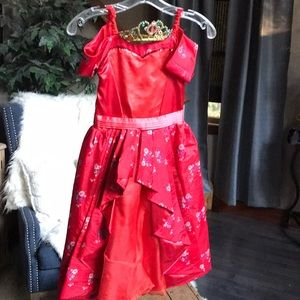 Authentic Princess Elena Dress from Disney Parks M